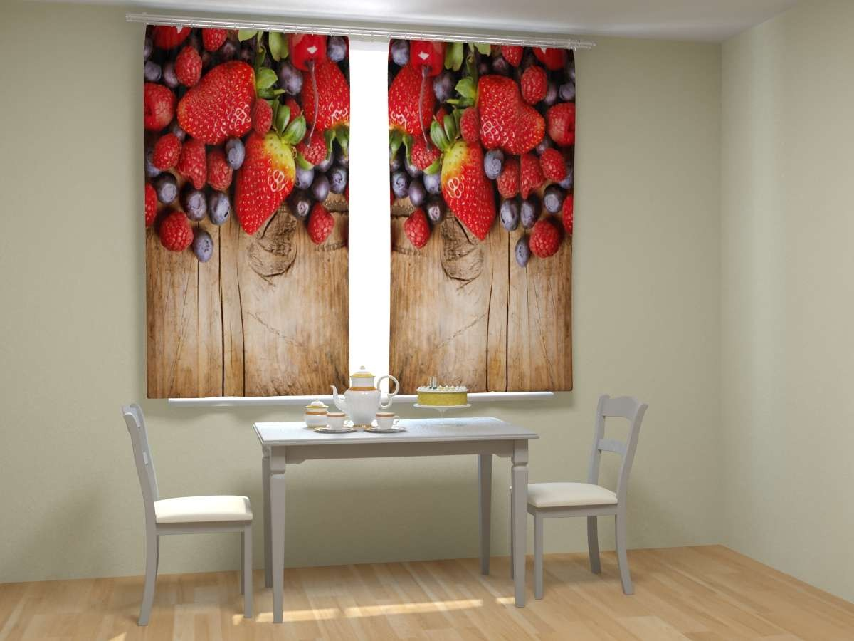 обои с ягодами для стен римские