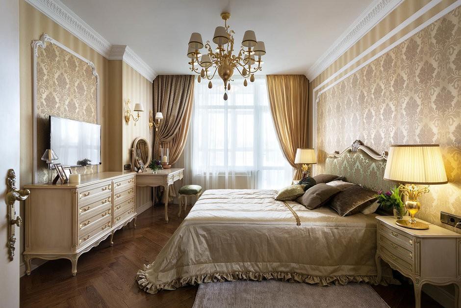 спальни в золотых тонах фото вандалам