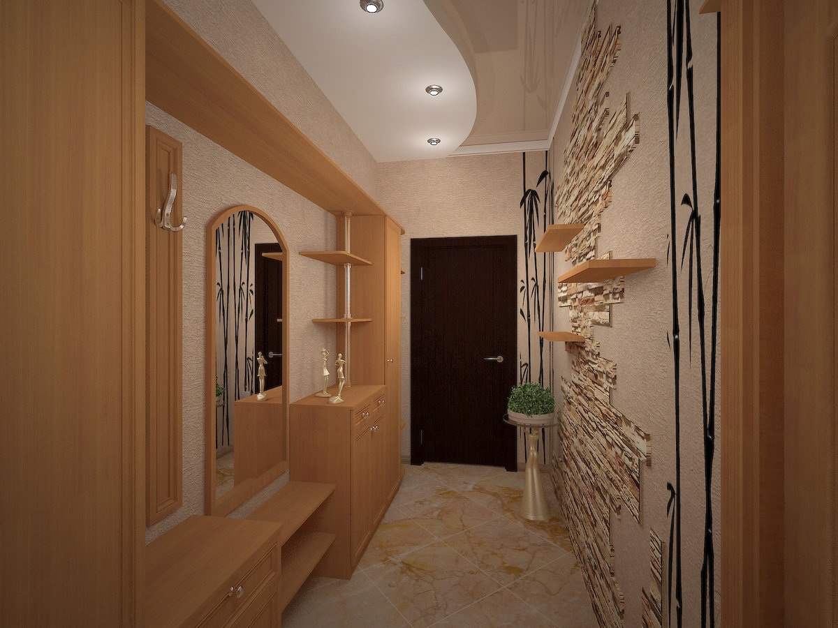 Узкий коридор фото своими руками