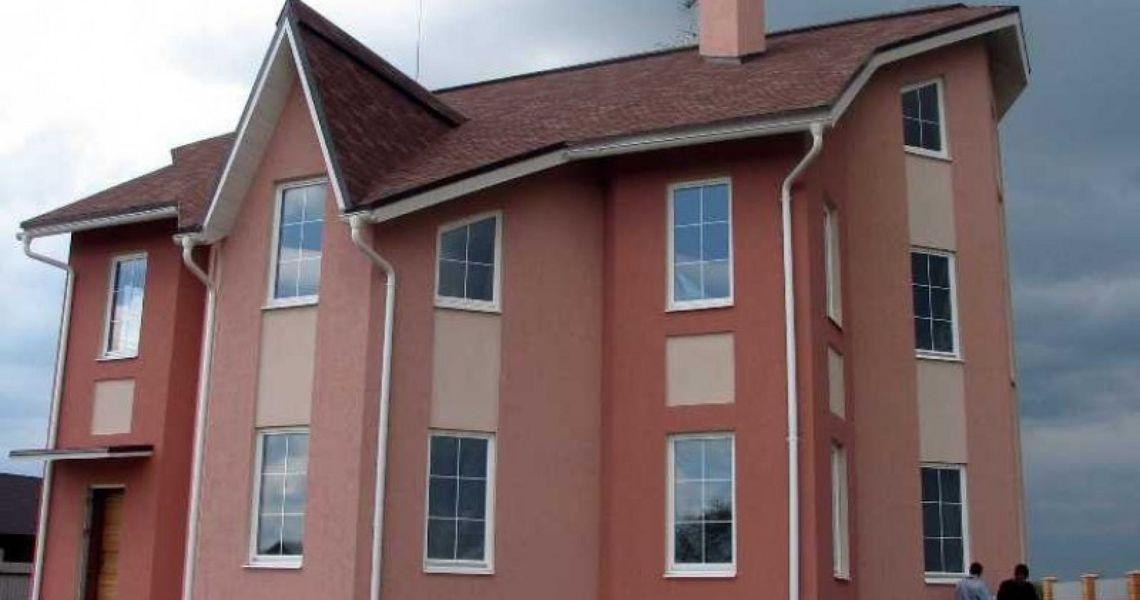 фото покраска домов сверху внимание
