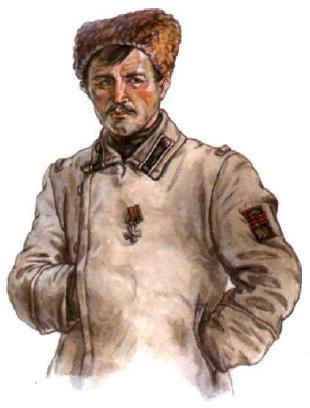 Фельдфебель Сибирских стрелковых частей Народно-Революционной армии Политцентра (январь 1920 г.)