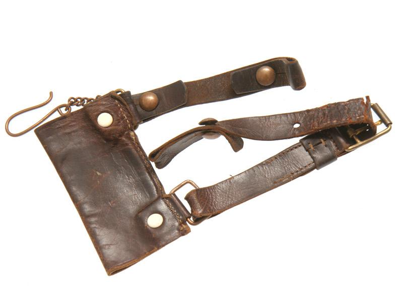 Портупейные ремни для крепежа шашки (одевались на поясной ремень см. выше)