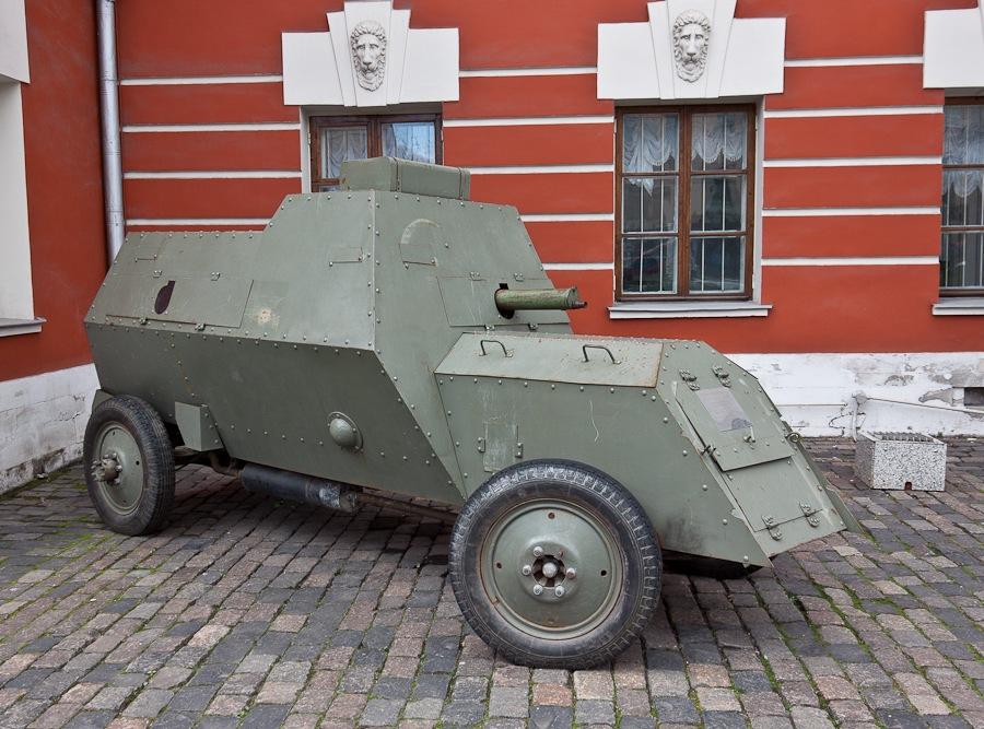 Бронеавтомобиль Руссо-Балт, 1914г. 1-ой Автомобильной роты Русской Императорской Армии.