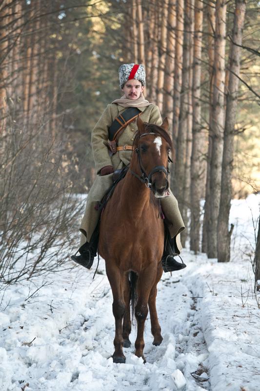 ВИК Щегловск красный кавалерист