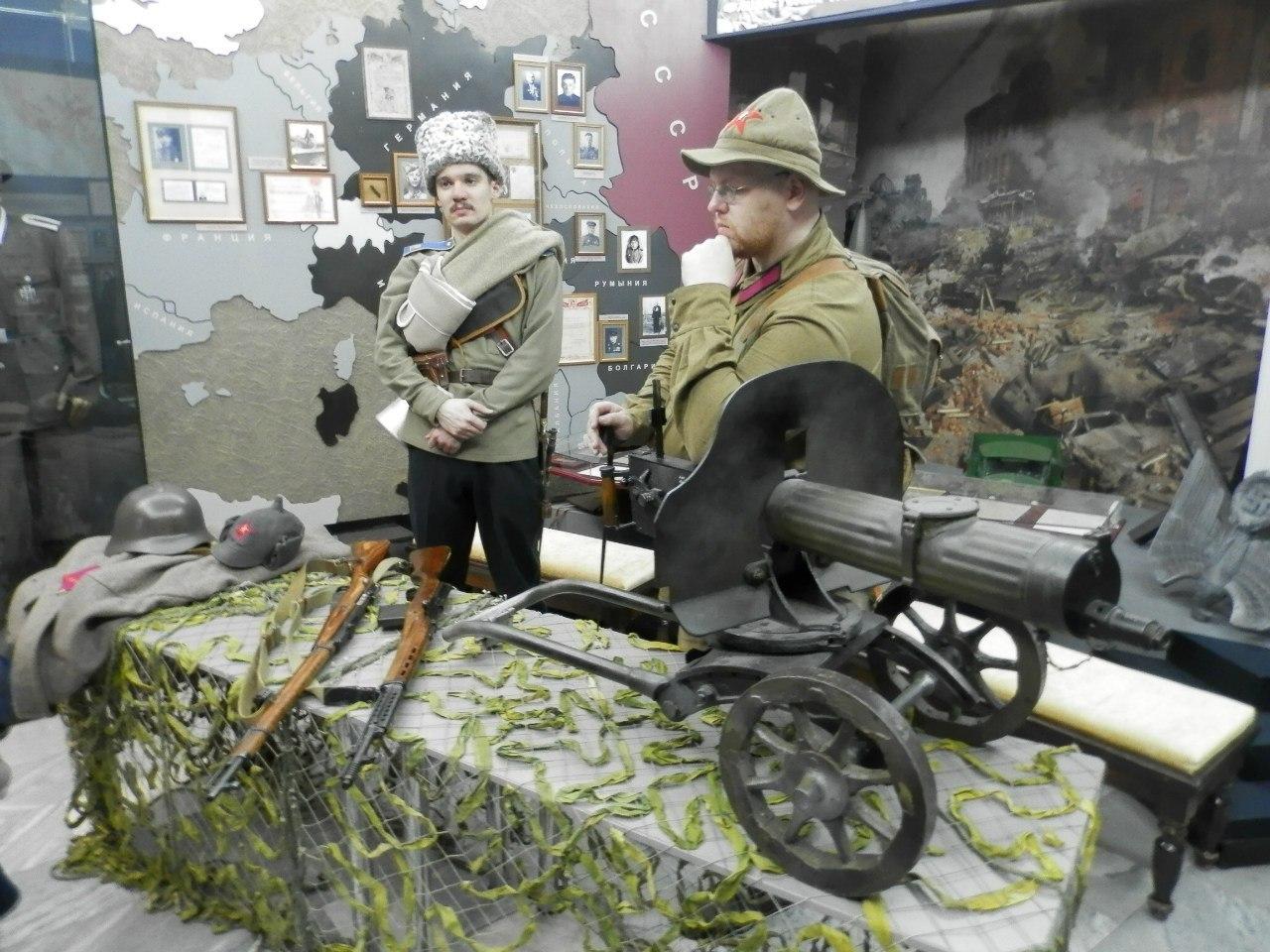 Ночь музеев 2014 в отделе боевой славы кемеровского краеведческого музея