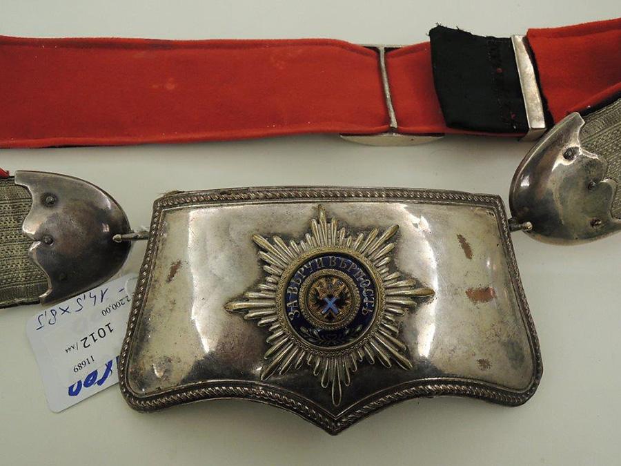 Лядунка офицерская с перевязью, образца 1889 года