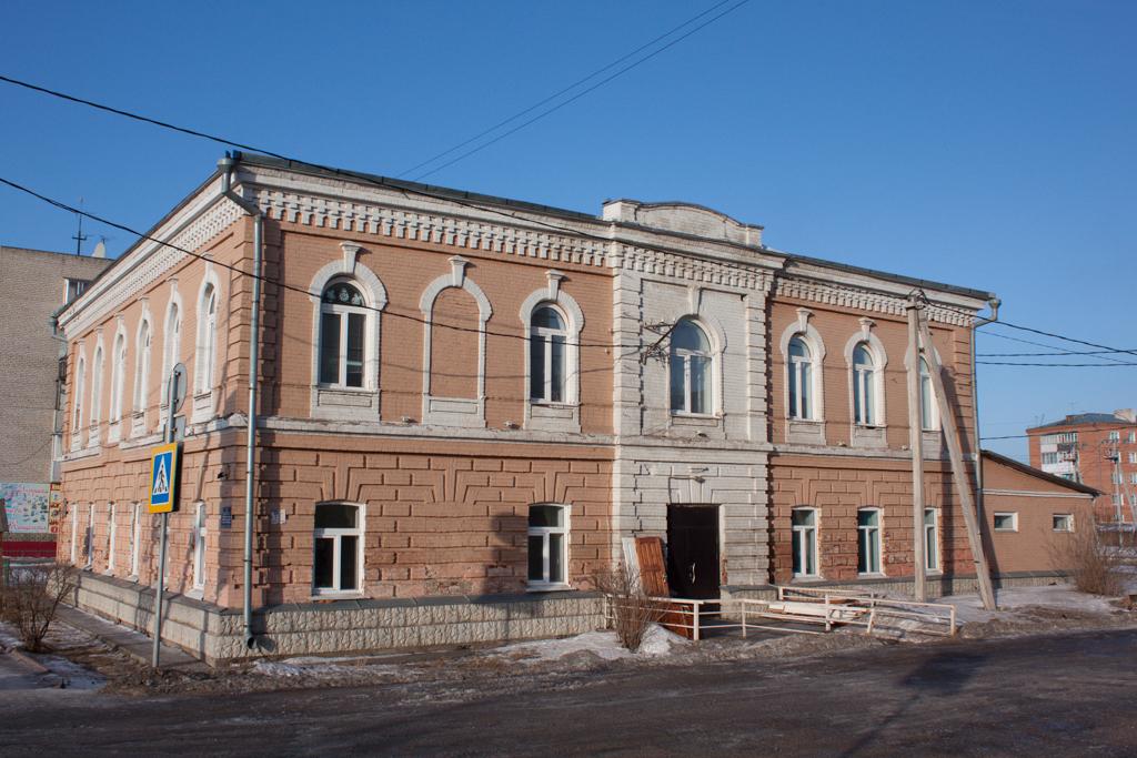 Дом, в котором заночевал цесаревич Николай II.