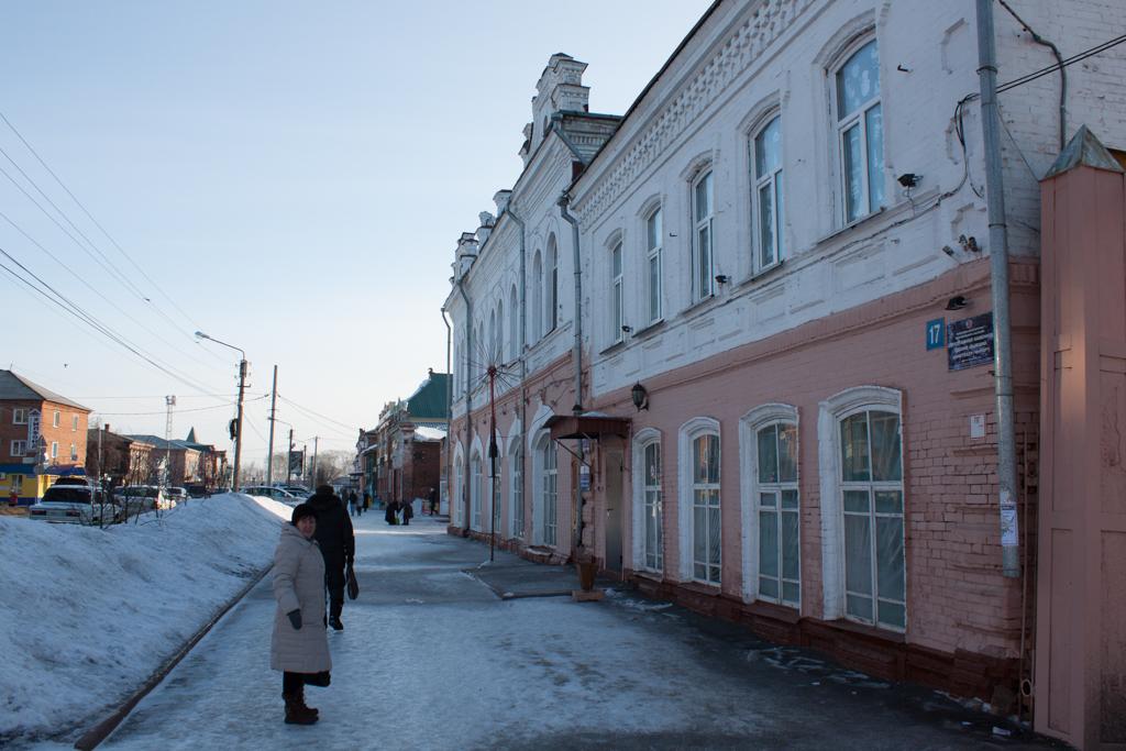 Центральная улица Мариинска.