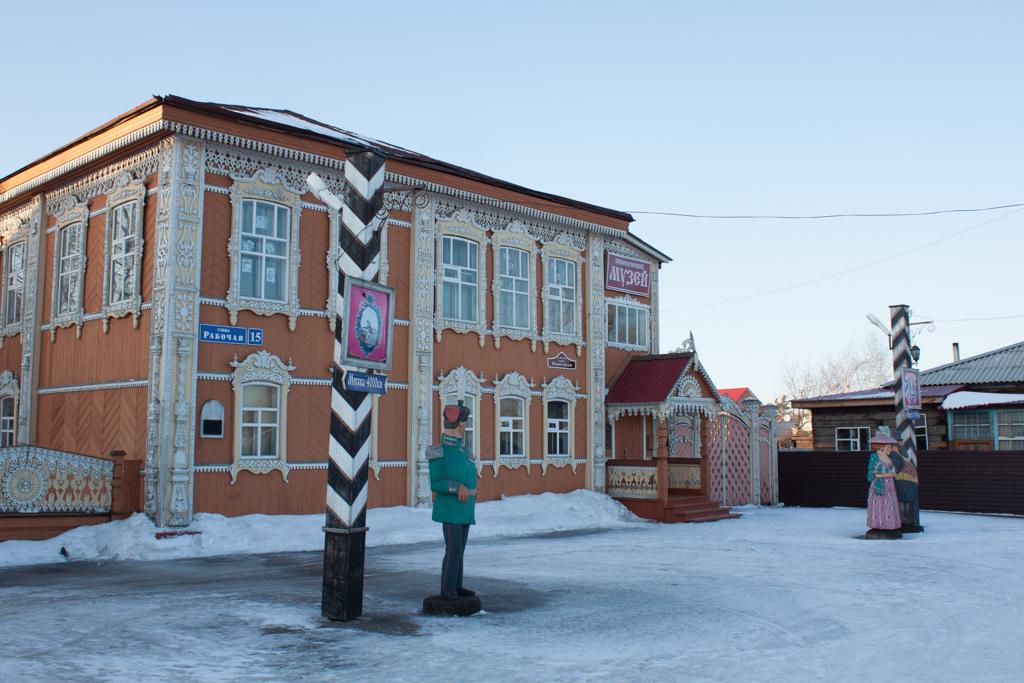 Здание краеведческого музея Мариинска.