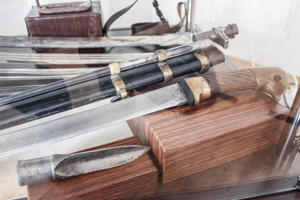 Шашка, штык к винтовке Мосина, наконечник пики
