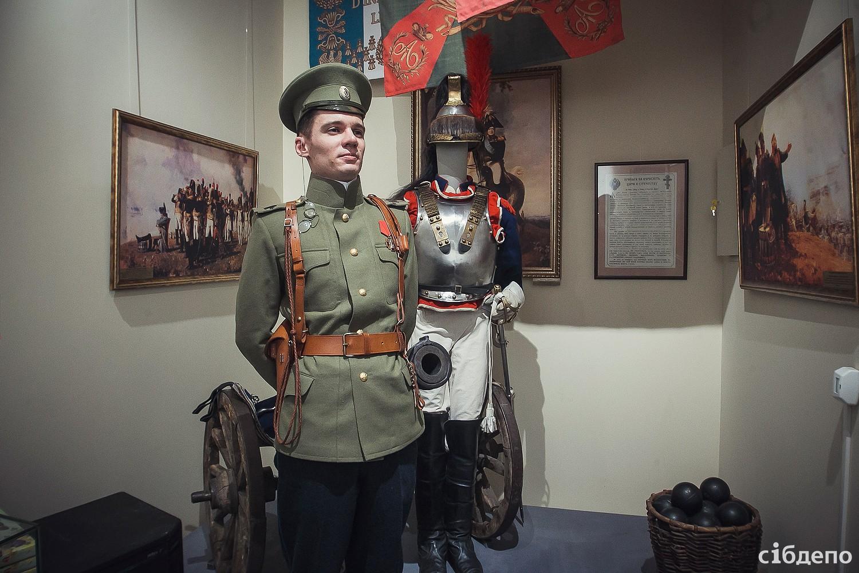 """Участие в выставке """"Три войны, три мира"""" кемеровского краеведческого музея"""